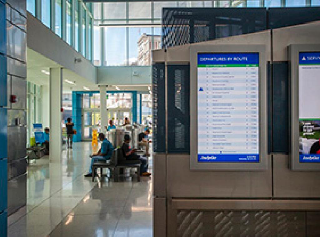 Julia M Carson Transit Center Indygo